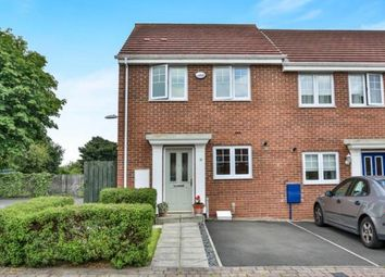Thumbnail 3 bed end terrace house for sale in Elvaston Crescent, Newcastle Upon Tyne, Tyne And Wear