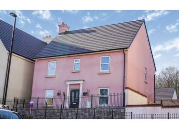 Thumbnail 4 bed detached house for sale in Ffordd Tir Brychiad, Cwmbran