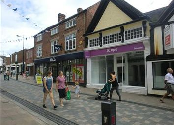 Thumbnail Retail premises to let in 26 High Street, Uttoxeter, Staffordshire