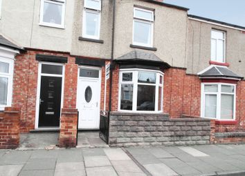 Thumbnail 3 bed terraced house for sale in Lowson Street, Darlington, Durham