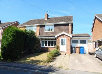 Thumbnail 3 bed semi-detached house to rent in Fairford Gardens, Burntwood