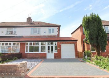 Thumbnail 3 bed semi-detached house for sale in Lumber Lane, Worsley, Manchester