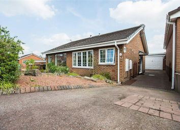 Thumbnail 1 bed semi-detached bungalow for sale in Brindley Crescent, Cheddleton, Leek