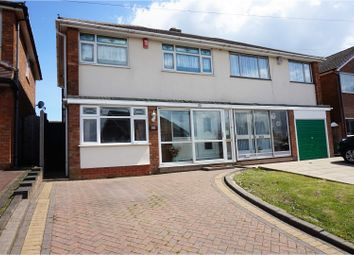 Thumbnail 3 bedroom semi-detached house for sale in The Ridgeway, Dudley