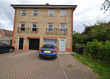 Thumbnail 4 bed town house for sale in Malkin Drive, Church Langley, Harlow, Essex