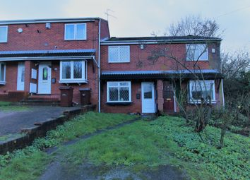 Thumbnail 2 bed terraced house for sale in Fairmead Close, Nottingham