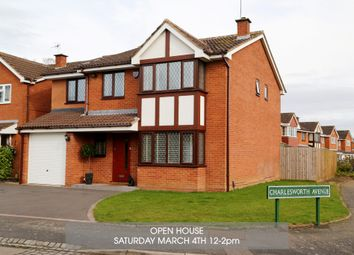 Thumbnail 5 bed detached house for sale in Charlesworth Avenue, Shirley, Solihull