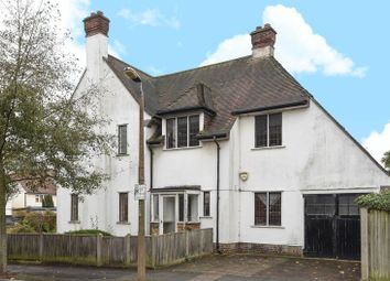Thumbnail 4 bed detached house for sale in Cross Deep, Strawberry Hill, Twickenham