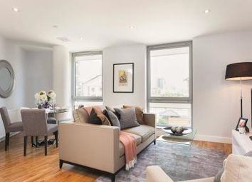 Thumbnail 2 bed flat for sale in New Providence Wharf, Blackwall Way, Canary Wharf, London