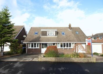 Thumbnail 4 bed detached house for sale in Davenport Close, Leek
