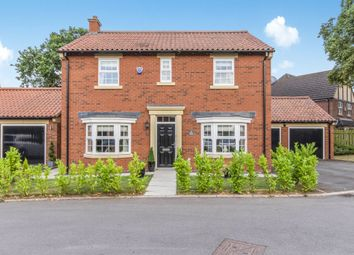 Thumbnail 4 bed detached house for sale in Priory Grove, Finningley, Doncaster