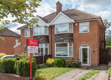 Thumbnail 3 bed semi-detached house for sale in Berkeley Road, Shirley, Solihull