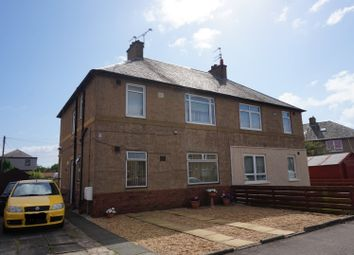 Thumbnail 2 bed flat for sale in Cedar Street, Grangemouth