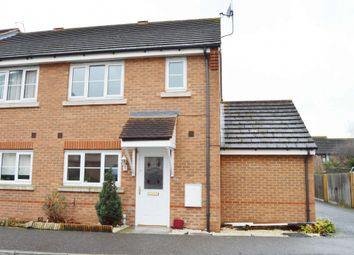 Thumbnail 3 bed end terrace house to rent in Nightingale Crescent, Harold Wood, Romford