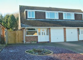 Thumbnail 3 bed semi-detached house for sale in Danetre Drive, Daventry, Northampton