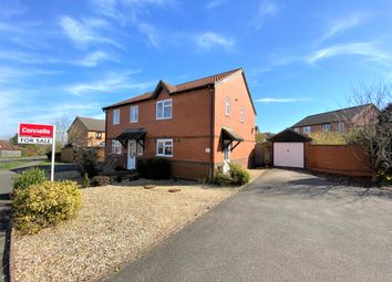 Thumbnail 3 bed semi-detached house for sale in Milestone Way, Gillingham