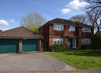 Thumbnail 4 bed detached house to rent in Four Acre Coppice, Hook