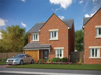 Thumbnail 3 bed detached house for sale in Stannington Park, Off Green Lane, Stannington
