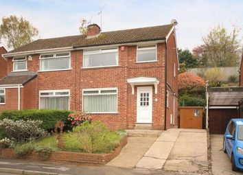 Thumbnail 3 bed semi-detached house for sale in Dale Road, Dronfield, Derbyshire