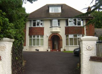 Thumbnail 2 bed flat to rent in Dunbar Road, Talbot Woods, Bournemouth