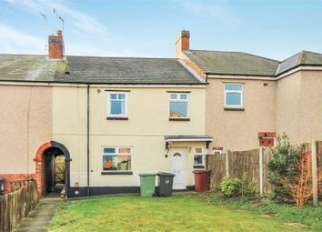Thumbnail 3 bed terraced house for sale in New Terrace, Pleasley, Mansfield, Derbyshire