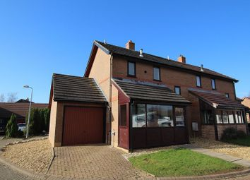 Thumbnail 2 bed semi-detached house to rent in Pontwilym, Brecon