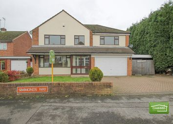 Thumbnail 4 bedroom detached house for sale in Simmonds Way, Brownhills, Walsall