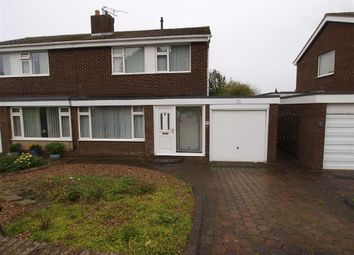 Thumbnail 3 bed semi-detached house for sale in Barrowburn Place, Seghill, Cramlington