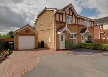 Thumbnail 3 bed semi-detached house for sale in Pindars Way, Barlby, Selby