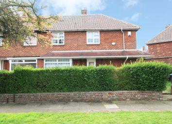 Thumbnail 3 bed semi-detached house for sale in Hurworth Road, Middlesbrough, Cleveland