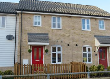 Thumbnail 2 bed terraced house for sale in Wintergreen Road, Red Lodge, Bury St. Edmunds