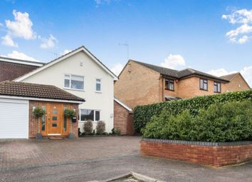 Thumbnail 4 bed detached house for sale in Crosspaths, Harpenden