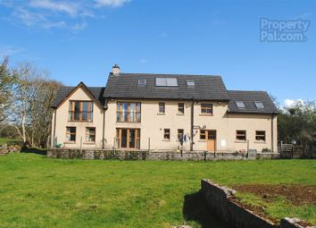 Thumbnail 4 bedroom detached house for sale in Gortacloghan Road, Garvagh, Coleraine