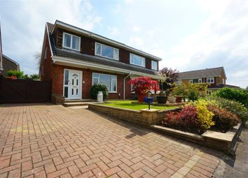 Thumbnail 3 bed semi-detached house for sale in Ruskin Avenue, Rogerstone, Newport