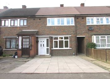 Thumbnail 3 bed terraced house to rent in Cromwell Road, Borehamwood