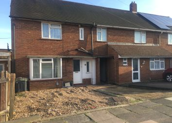 Thumbnail 3 bed end terrace house to rent in Felmersham Road, Luton, Beds