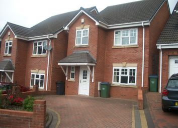 Thumbnail 4 bed detached house to rent in High Haden Road, Cradley Heath