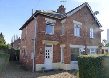 Thumbnail 3 bedroom semi-detached house for sale in Stow Road, Wisbech