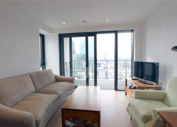 Thumbnail 1 bedroom flat to rent in Horizons Tower, Canary Wharf, London