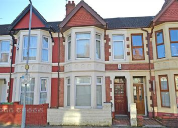 Thumbnail 4 bed terraced house to rent in Australia Road, Heath, Cardiff