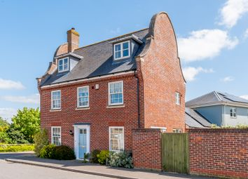 Thumbnail 4 bed detached house for sale in Castelins Way, Norwich