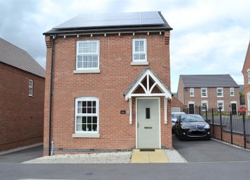 Thumbnail 3 bedroom detached house for sale in St. Martins Close, Church Gresley, Swadlincote