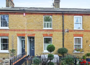 Thumbnail 3 bed terraced house for sale in Waverley Road, Weybridge, Surrey