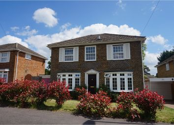 Thumbnail 4 bedroom detached house for sale in Stephenson Drive, East Grinstead