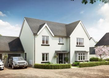 """Thumbnail 4 bed detached house for sale in """"The Cottingham"""" at The Rocklands, Chudleigh, Newton Abbot"""