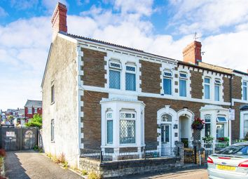 Thumbnail 4 bed end terrace house for sale in Maes-Y-Cwm Street, Barry
