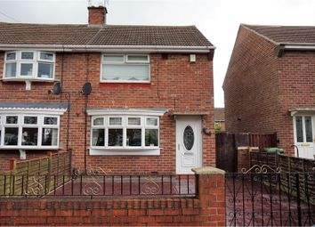 Thumbnail 2 bed semi-detached house for sale in Hartside Road, Sunderland