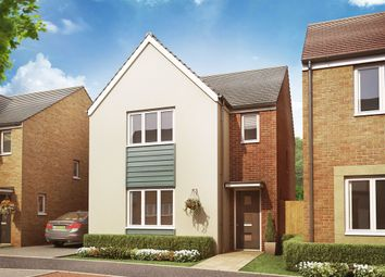 "Thumbnail 3 bed detached house for sale in ""The Hatfield "" at Christie Drive, Hinchingbrooke Park Road, Huntingdon"