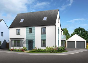 "Thumbnail 5 bed detached house for sale in ""Moorecroft"" at Main Road, Ogmore-By-Sea, Bridgend"
