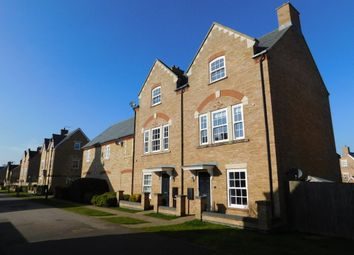 Thumbnail 3 bed town house for sale in Copperfield Close, Fairfield Park, Stotfold, Herts